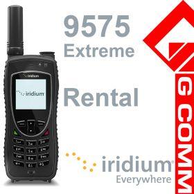 Iridium 9575 Extreme satellite phone for rental