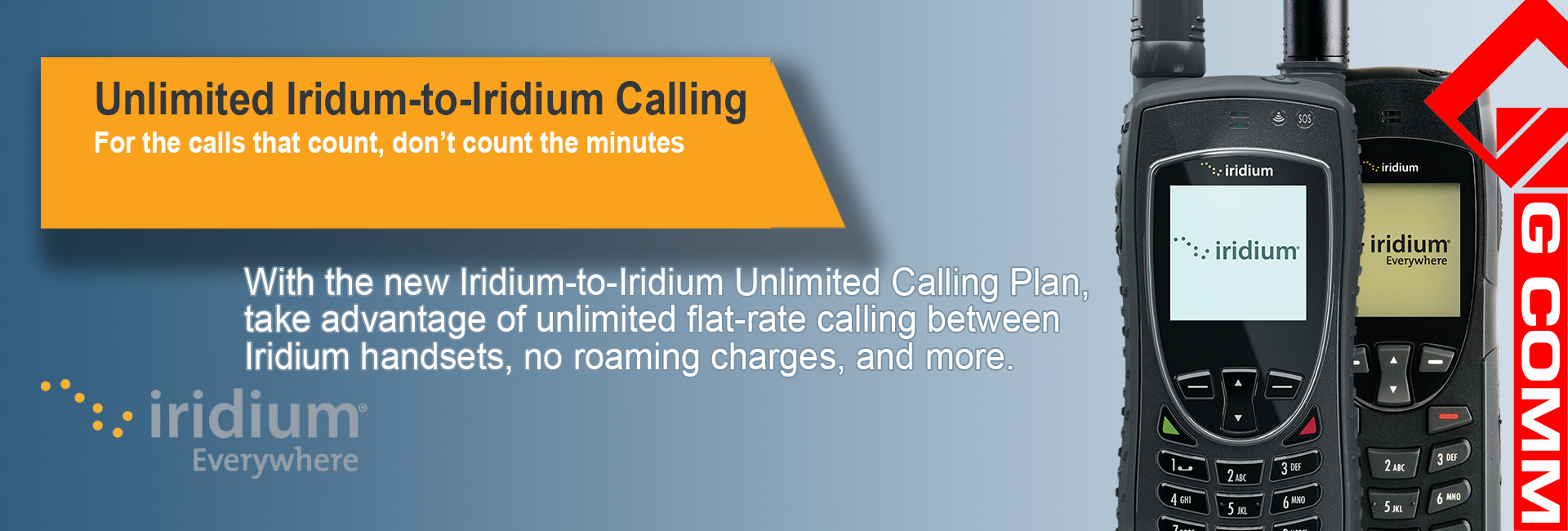Iridium to Iridium Unlimited calling