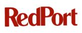 RedPort logo