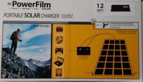 12 watt PowerFilm Foldable Solar Charger
