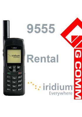 Iridium 9555 Satellite Phone Rental from $75/week