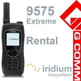 Iridium 9575 Extreme satellite phone for rental