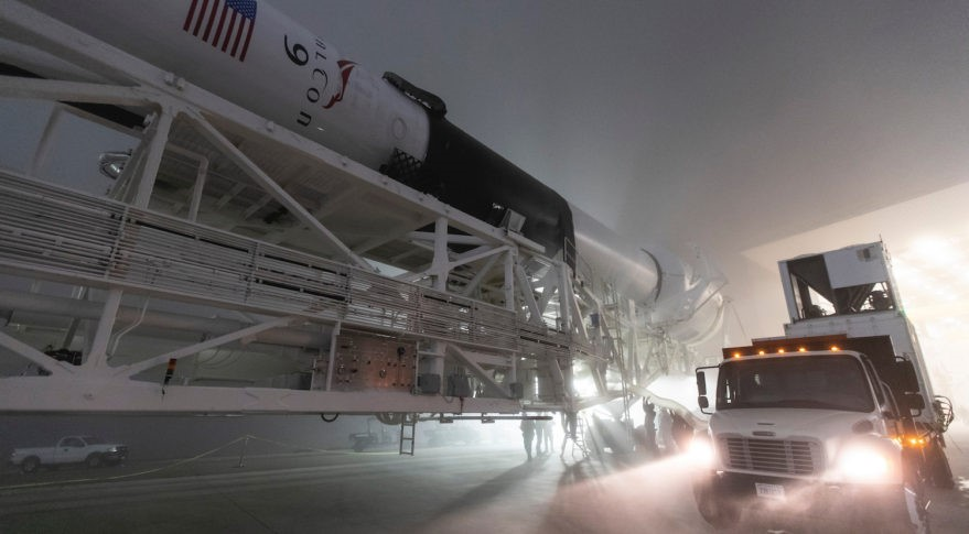 Falcon 9 - Image credit: SpaceX