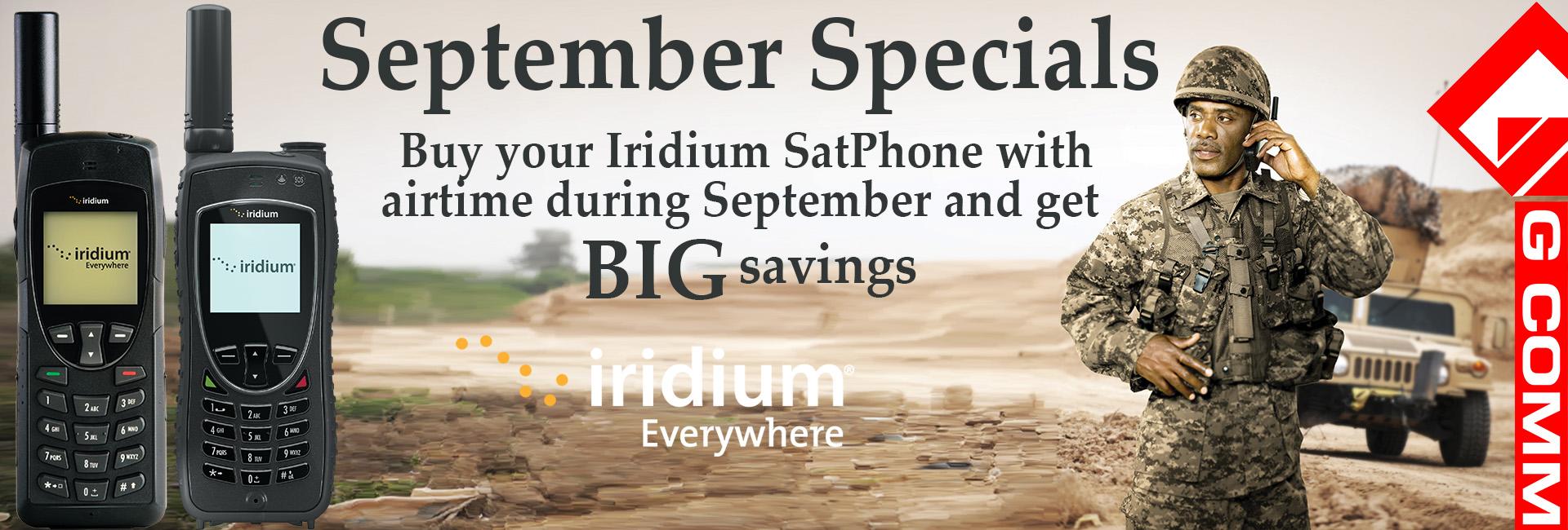 Iridium Handheld satellite phones - 9555 and 9575 Extreme