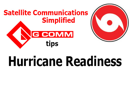 Satellite Comms Simplified - Hurricane Readiness