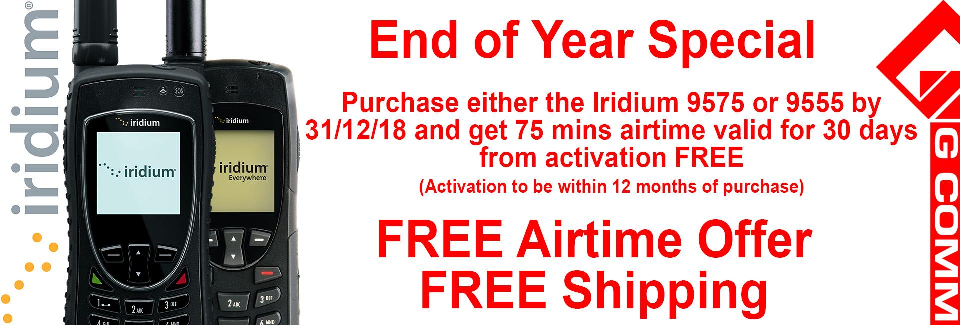 End of year special on Iridium satellite phones