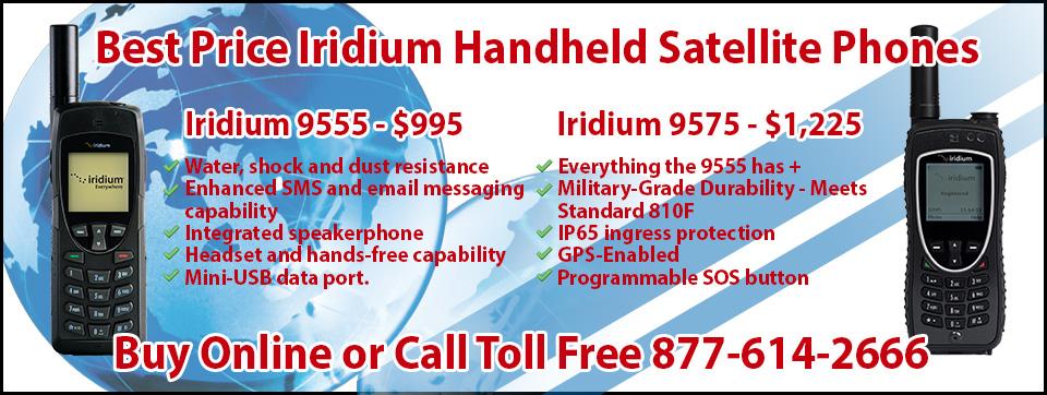 Best price iridium handheld
